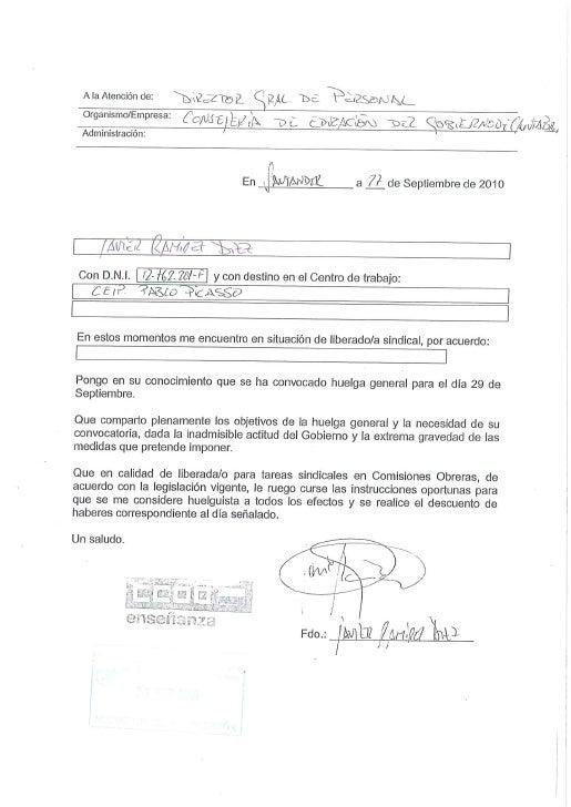 Comunicación huelga liberados feccoo cantabria 29 s