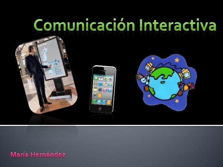 Comunicación interactiva