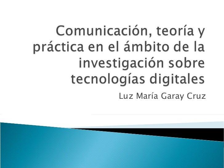 Luz María Garay Cruz