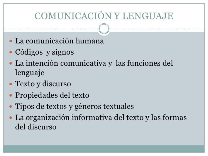 COMUNICACIÓN Y LENGUAJE<br />La comunicación humana<br />Códigos  y signos<br />La intención comunicativa y  las funciones...