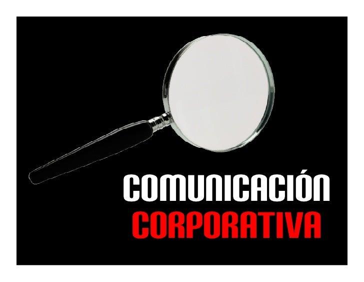 Comunicacion corporativa