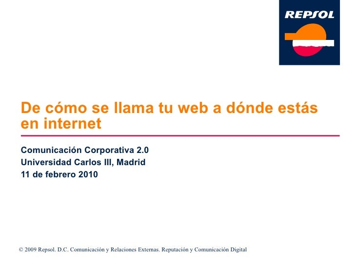 Comunicacion Corporativa Carlos Iii Feb10