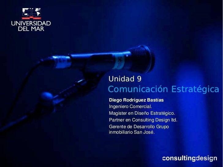 Comunicacion estrategica unidad 9