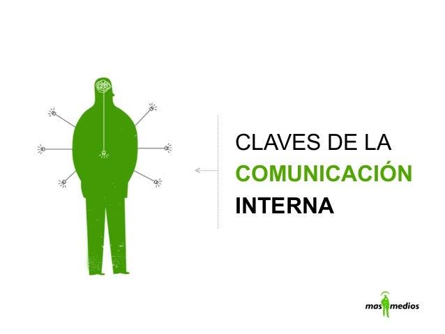 Claves de la comunicación interna. Marga Cabrera