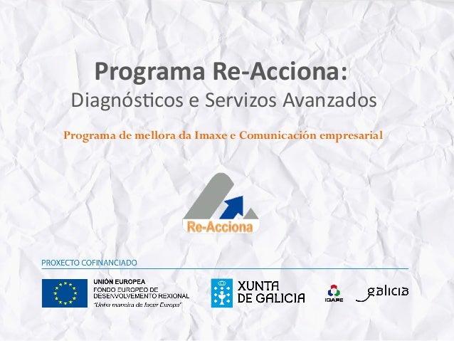 Servicio de Imagen&Comunicacion ReAcciona