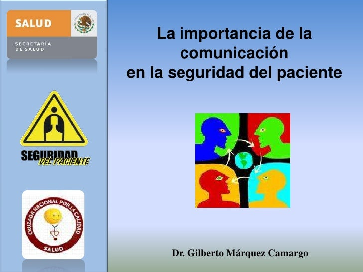 Comunicacion seguridad del paciente