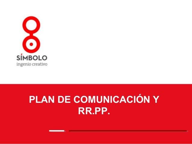 Comunicacion y rr.pp.