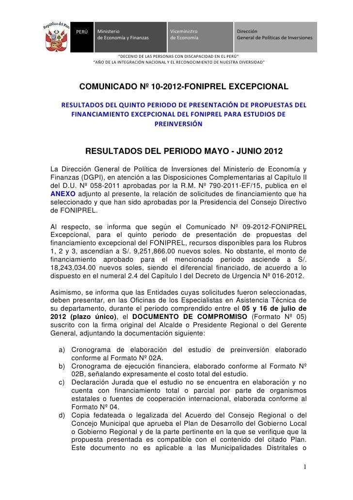 Comunicado 10 foniprel_excepcional_publicaci_resultados_5to_periodo
