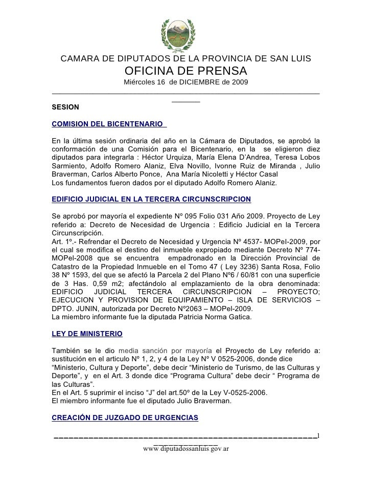 Comunicado De Prensa[1]