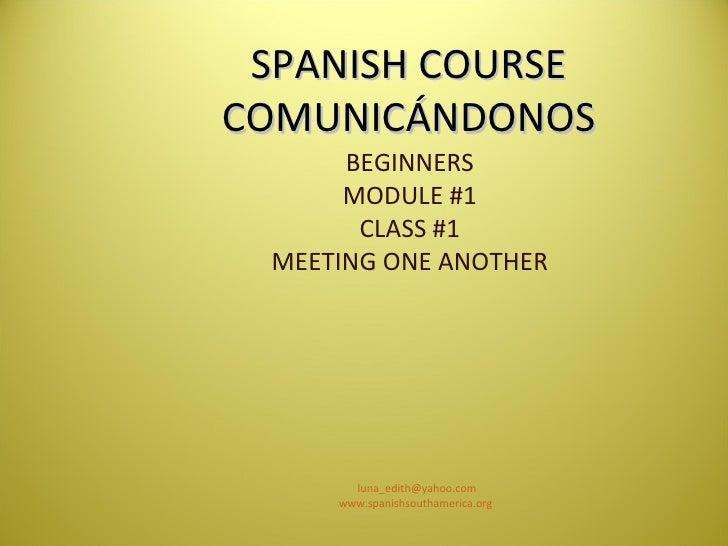 Comunicandonos modulo 1 clase 1