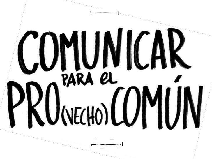COMUNICAR PARA   PRO(VECHO)COM ÚN