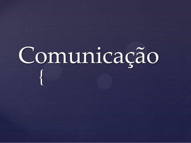 Comunicação {