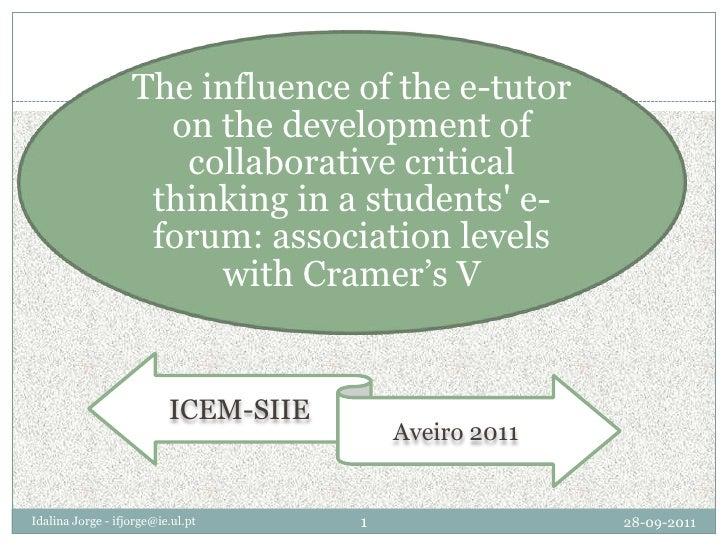 Presentation, ICEM-SIIE, Aveiro 2011
