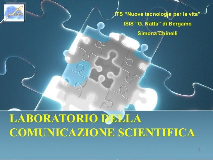 Comunicare la scienza e la bioetica