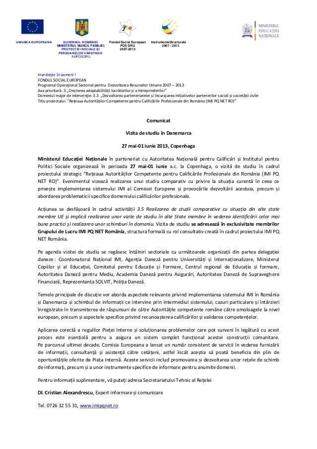 UNIUNEA EUROPEANĂ GUVERNUL ROMÂNIEIMINISTERUL MUNCII, FAMILIEI,PROTECŢIEI SOCIALE ȘIPERSOANELOR VĂRSTNICEAMPOSDRUFondul So...