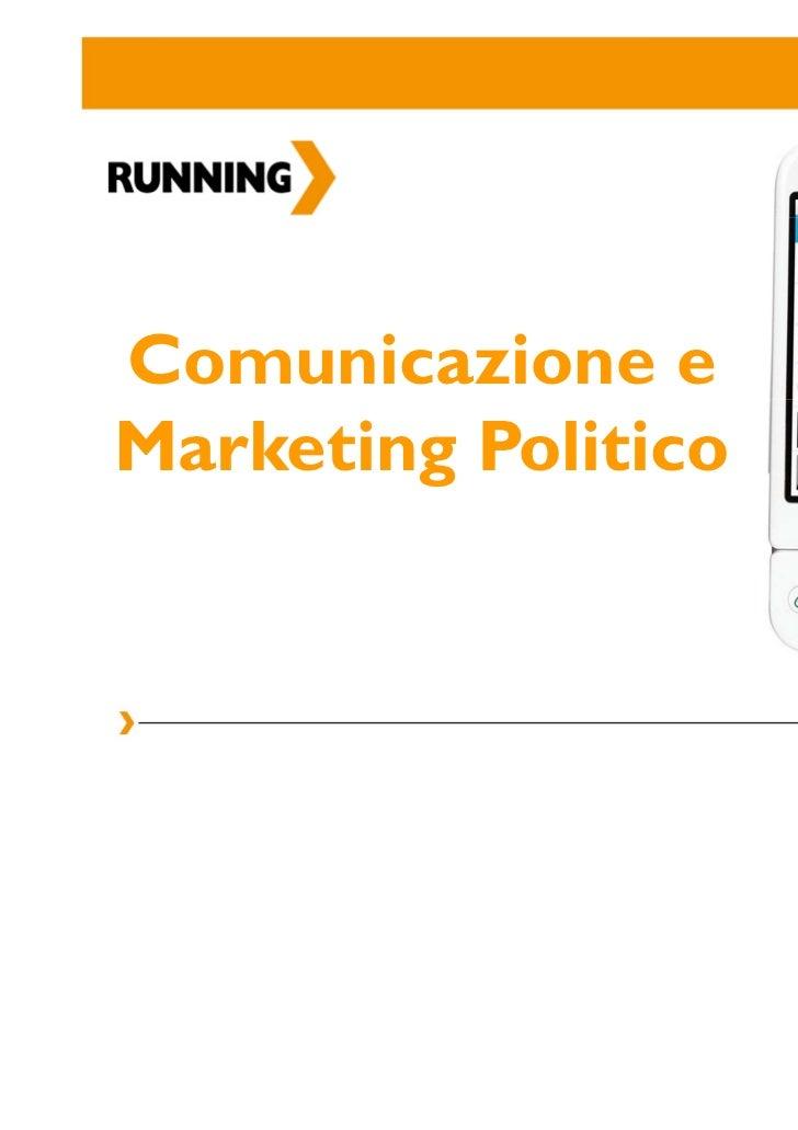 Comunicazione e marketing politico per le campagne elettorali