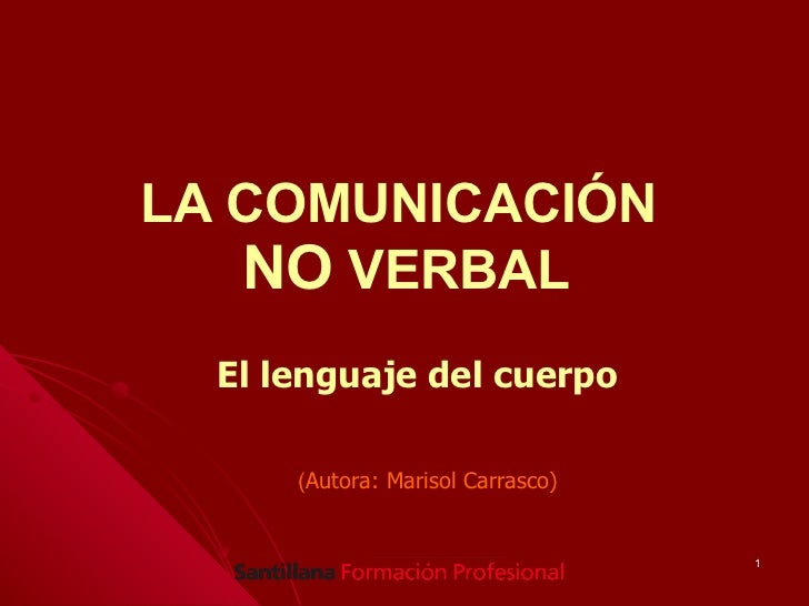 Comunic no verbal
