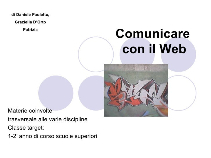 Comunic@re nel Web