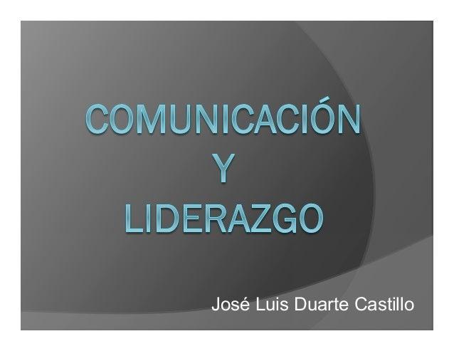 José Luis Duarte Castillo