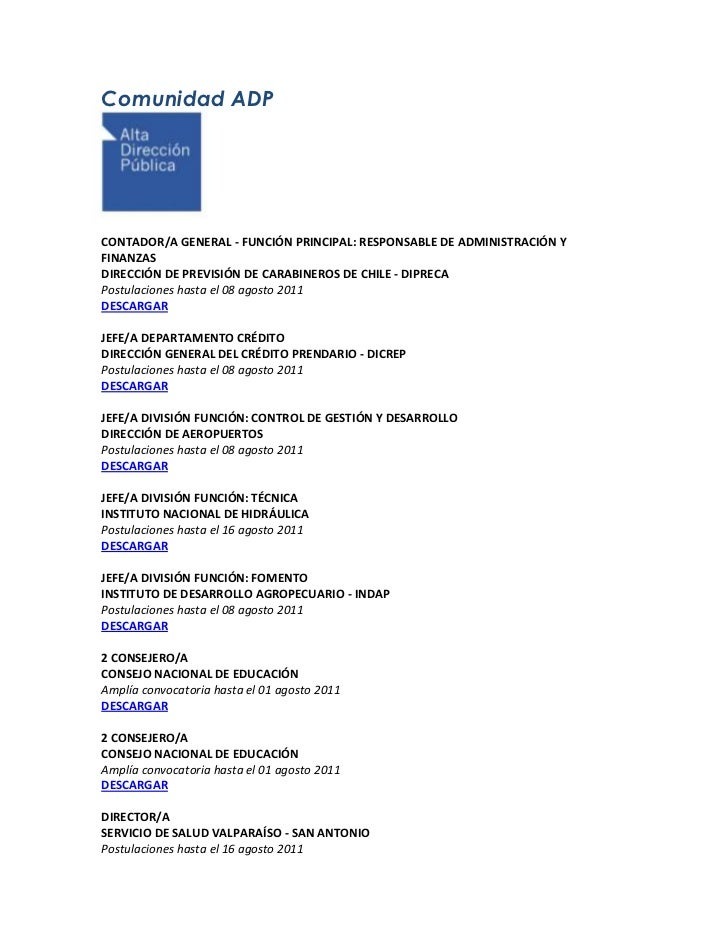 -9525020002500Comunidad ADP<br />CONTADOR/A GENERAL - FUNCIÓN PRINCIPAL: RESPONSABLE DE ADMINISTRACIÓN Y FINANZAS <b...