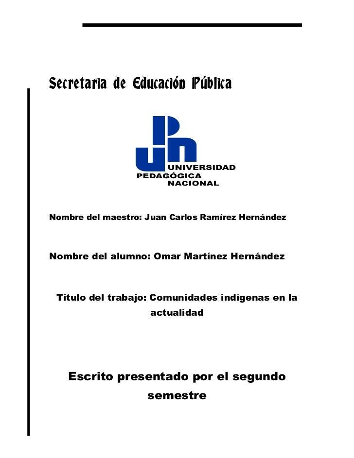 Secretaria de Educación Pública<br />1815465283210<br />Nombre del maestro: Juan Carlos Ramírez Hernández<br />Nombre del ...