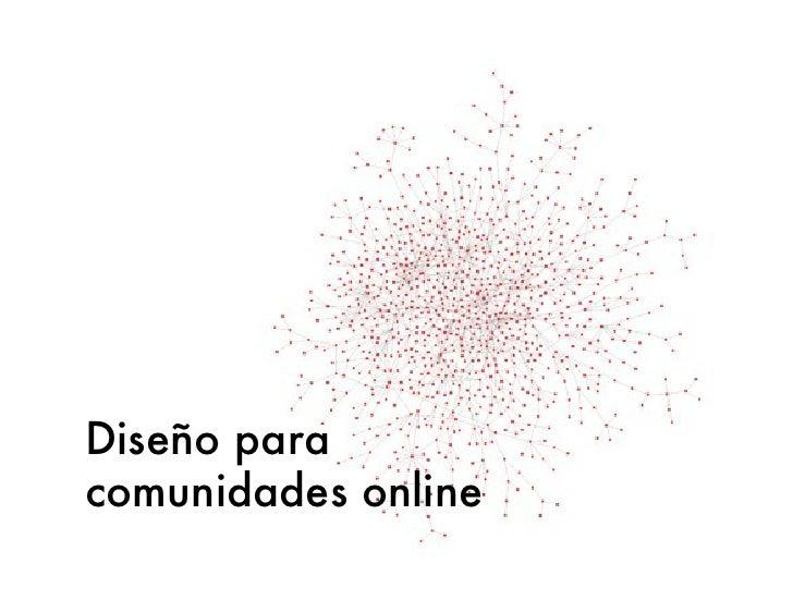 Diseño para comunidades online