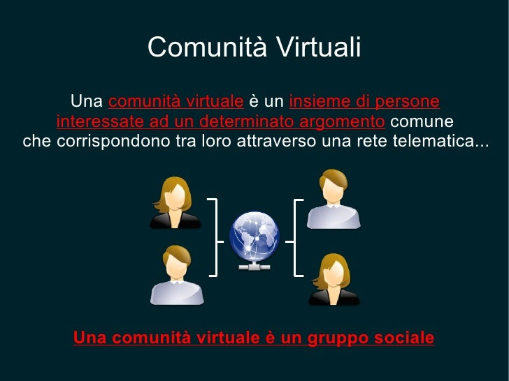 Comunita Virtuali