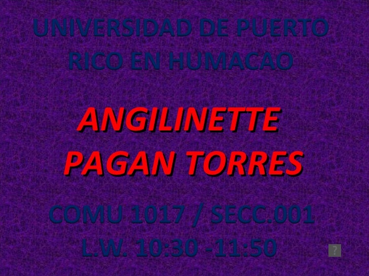 ANGILINETTE  PAGAN TORRES