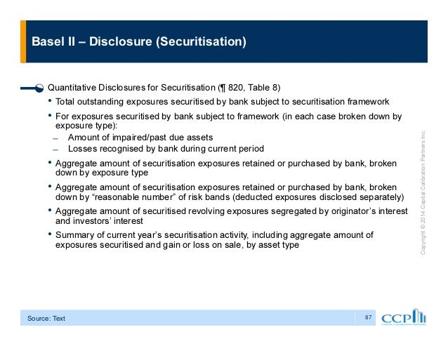 basel ii and securitisation a guided Us basel iii final rule and its impact on the securitization for a securitization exposure are to be guided by the used in basel ii.