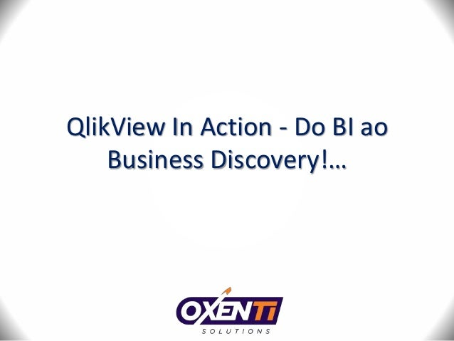 QlikView In Action - Do BI ao  Business Discovery!…