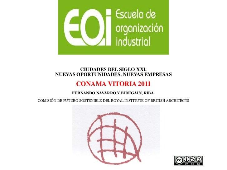 Fernando Navarro ·Ecoinnovación. Ciudades verdes: oportunidad para nuevas empresas