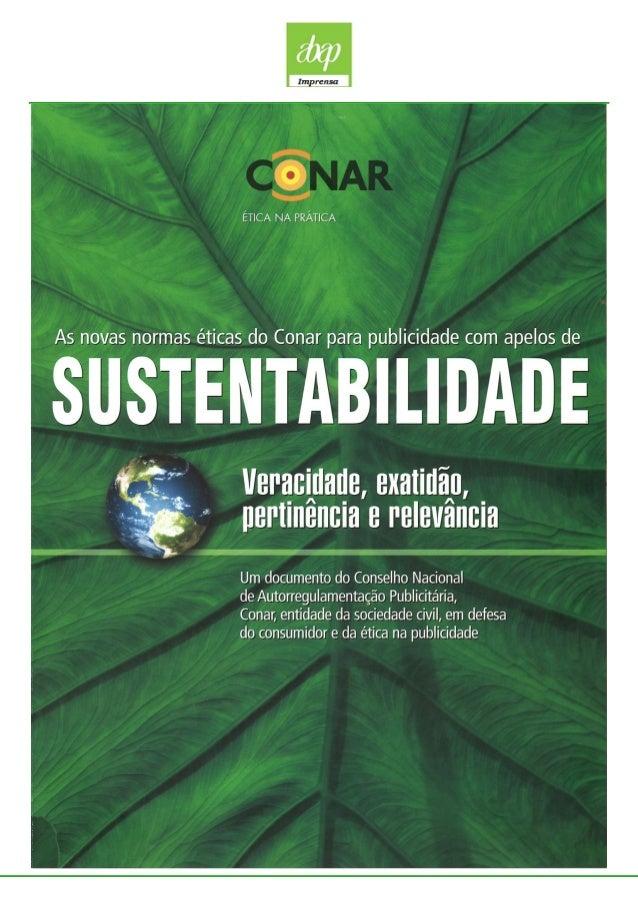 Conar - Sustentabilidade