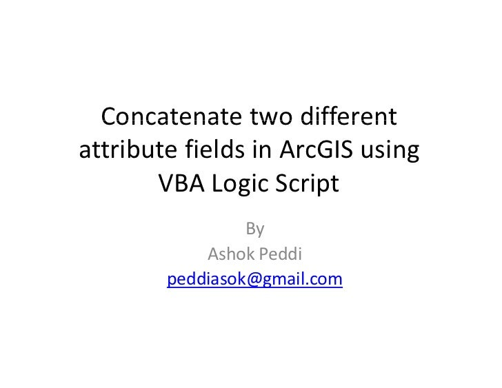 Concatenate two different_attribute_fields_in_arc_gis