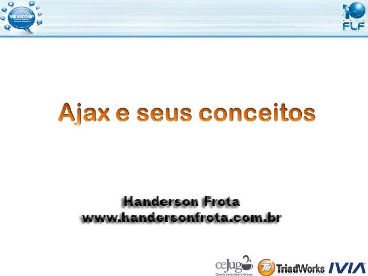 Conceitos de Ajax