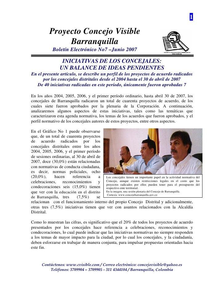 Concejo Barranquilla