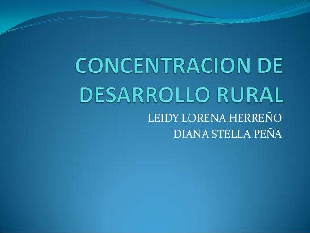 LEIDY LORENA HERREÑO DIANA STELLA PEÑA