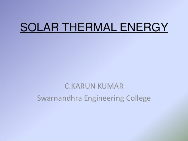 Concentrated solar power2