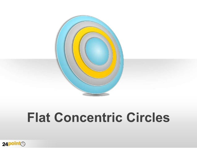 Concentric Circles  Insert text