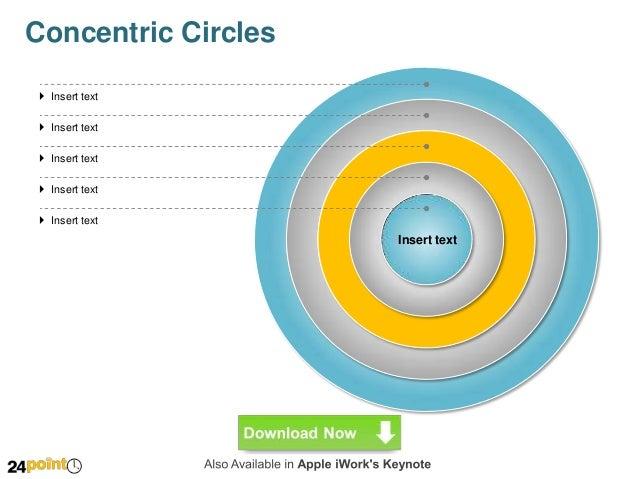 concentric circles diagram ppt