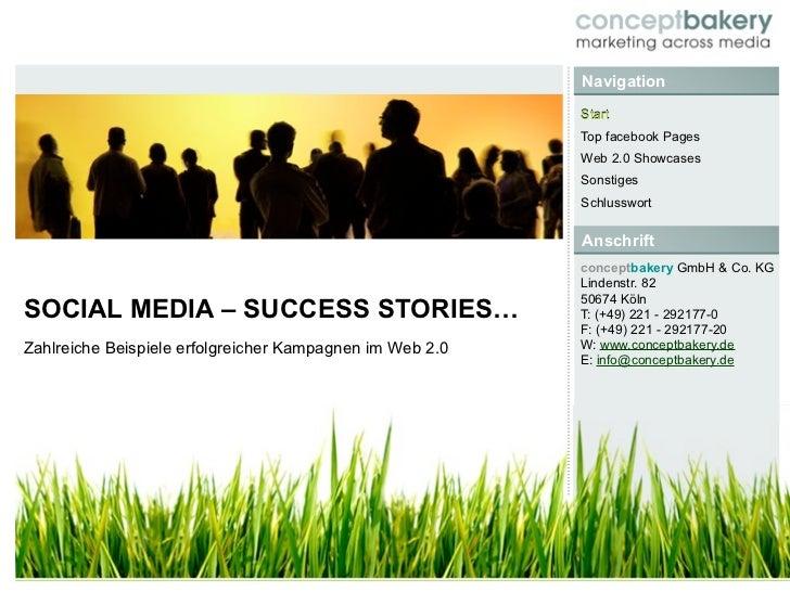 Social Media Marketing - Sucess Stories