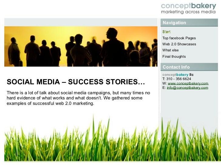 Social Media Success Stories