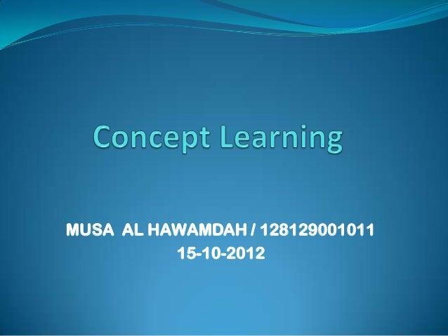 MUSA AL HAWAMDAH / 128129001011          15-10-2012