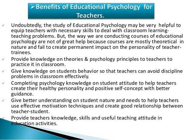 Thesis topics for educational psychology