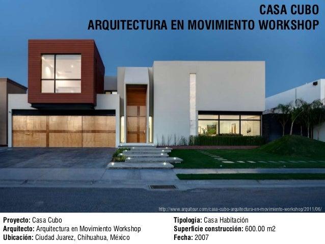 Concepto casa cubo