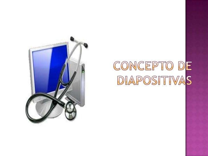 Concepto de diapositivas