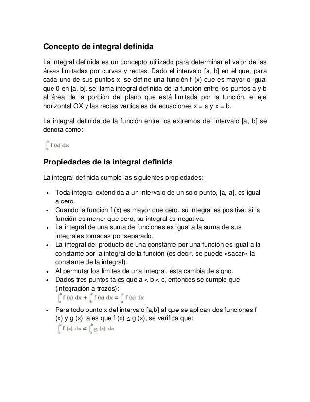 Concepto de integral definida (1)