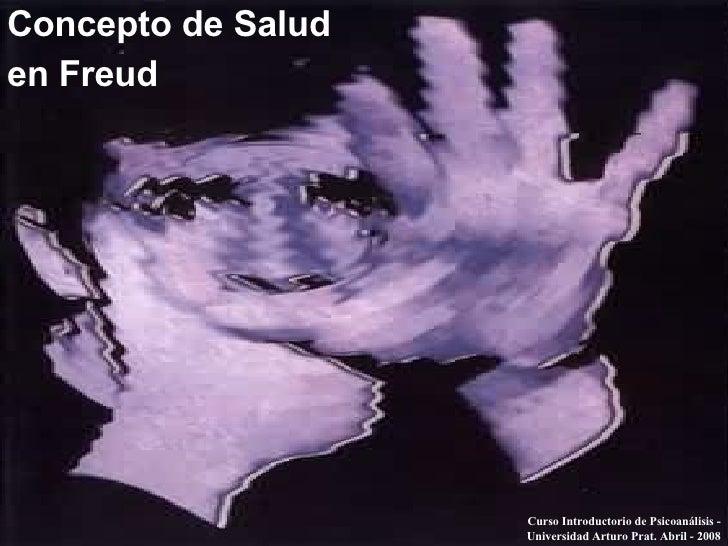Concepto De Salud En Freud