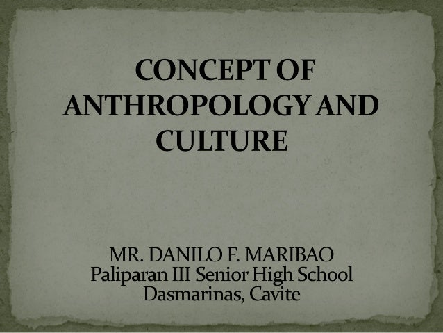 Cultural Anthropology/Introduction