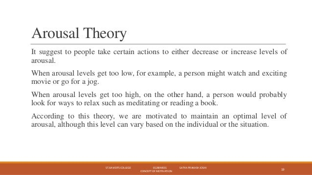 Example of a some particular psychological model for extrinsic motivation?