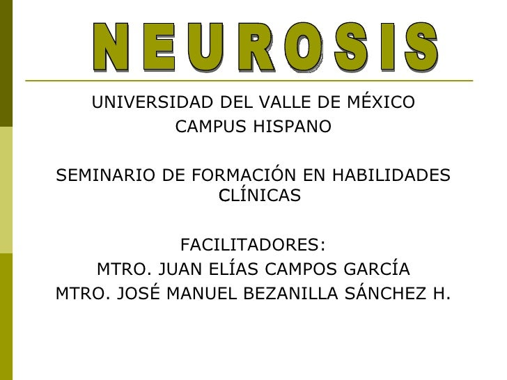 Concepto neurosis